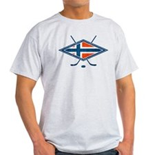 Norsk Ishockey Flag T-Shirt