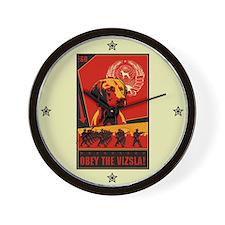 Obey the Vizsla! #2 Wall Clock