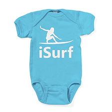 iSurf Surfing Baby Bodysuit