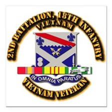 Army - 2nd Battalion, 18th Infantry w SVC Ribbons