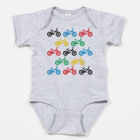 BMX Bikes Baby Bodysuit