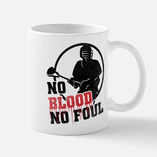 No Blood, No Foul, Lacrosse Mug
