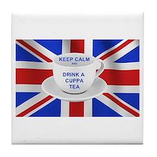 Cute British Tile Coaster