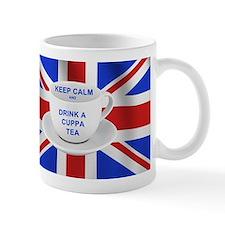 Keep Calm and Drink a Cuppa Tea Small Mug