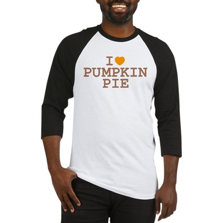 I Heart Pumpkin Pie Baseball Jersey
