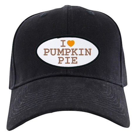 I Heart Pumpkin Pie Black Cap