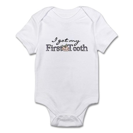 First Tooth (Girl) Infant Bodysuit