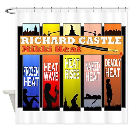 Castle Nikki Heat Shower Curtain