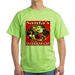 Santa's Workshop Green T-Shirt