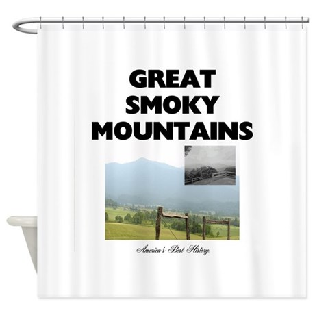 Smoky Mountains Americasbesthistory Shower Curtain