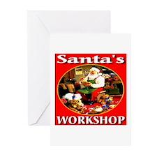 Santa's Workshop Greeting Cards (Pk of 10)