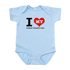 I Love My Great Grand Dad Infant Bodysuit