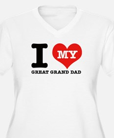 I Love My Great Grand Dad T-Shirt