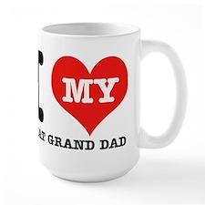 I Love My Great Grand Dad Mug