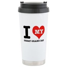 I Love My Great Grand Dad Travel Mug
