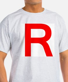 Team Rocket Grey T-Shirt