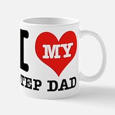 I Love My Step Dad Mug