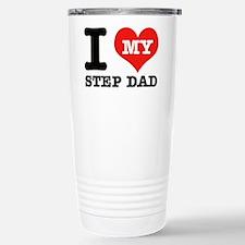 I Love My Step Dad Travel Mug
