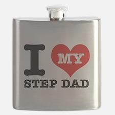 I Love My Step Dad Flask