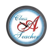 Class A Teacher Wall Clock