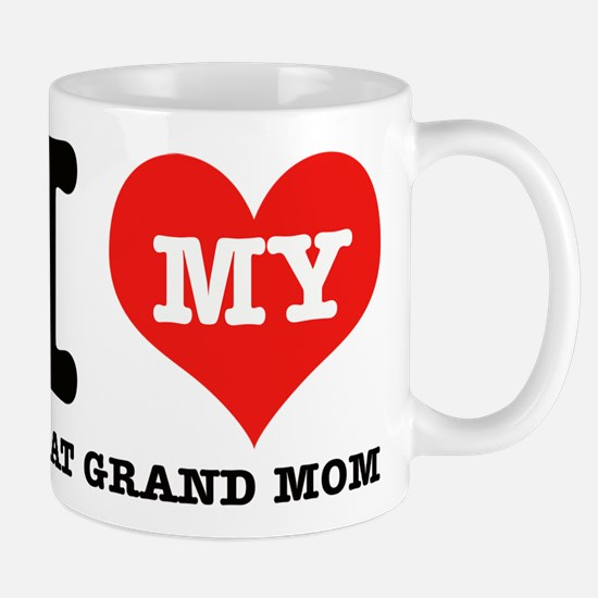 I Love My Great Grand Mom Mug