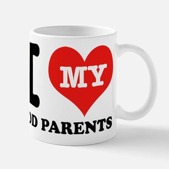 I Love My God Parents Mug