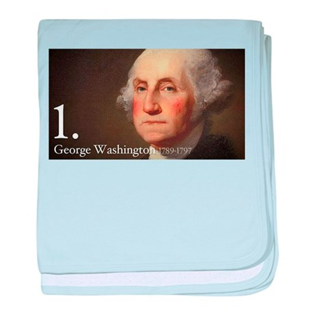 George Washington baby blanket