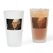 George Washington Pint Glass