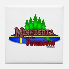 "Minnesota ""Land of the..."" Tile Coaster"