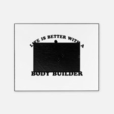 Body Builder vector designs Picture Frame
