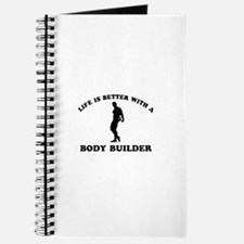 Body Builder vector designs Journal