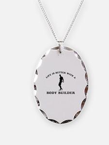 Body Builder vector designs Necklace