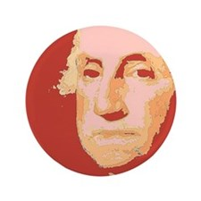 "George Washington 3.5"" Button (100 pack)"