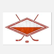 Polski Hokej Na Lodzie Flag Postcards (Package of