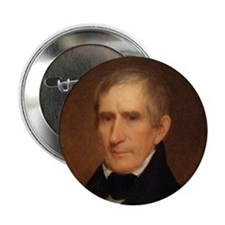 """William Henry Harrison 2.25"""" Button (10 pack)"""