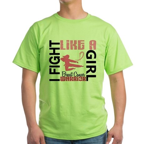 Fight Like A Girl Breast Cancer T-Shirt
