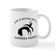 Capoeira Fighter vector designs Mug