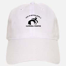 Baseball Baseball Capoeira Fighter vector designs Baseball Baseball Cap
