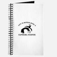Capoeira Fighter vector designs Journal