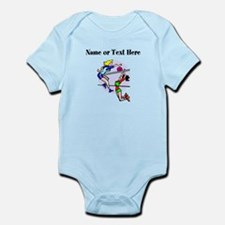 Personalized Girls Volleyball Body Suit
