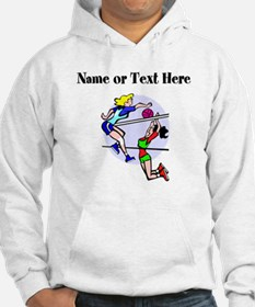 Personalized Girls Volleyball Hoodie