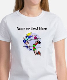 Personalized Girls Volleyball T-Shirt