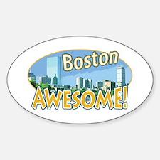 Awesome Boston B&O Oval Decal