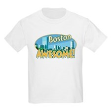 Awesome Boston B&O Kids T-Shirt