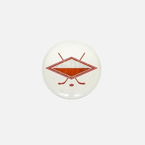 Polski Hokej Na Lodzie Flag Mini Button