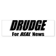 DRUDGE News Bumper Bumper Sticker