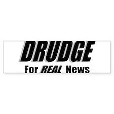 DRUDGE News Bumper Car Sticker