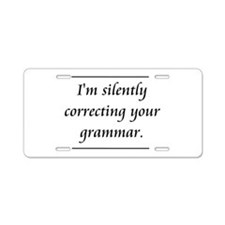 I'm Silently Correcting Your Grammar Aluminum Lice