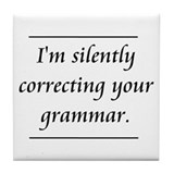 Grammar Coasters