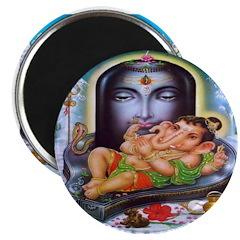 Ganesh and Krishna Magnets (10 pack)